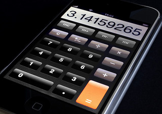 iPhone Calculator by Dominic Alves