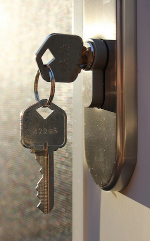 door key (CC BY 2.0) by woodleywonderworks